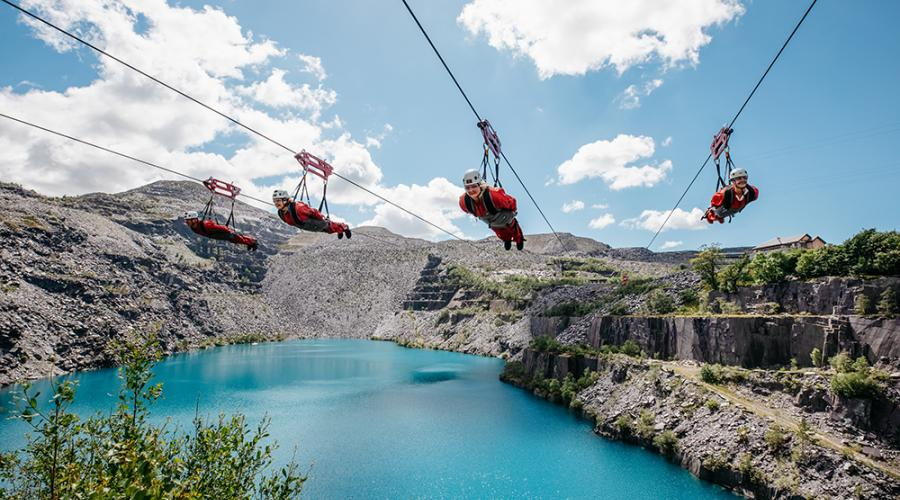 Zip World Velocity 2 - The Fastest Zip Line in the World ... on